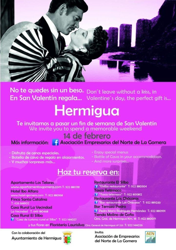 Hermigua gomera San Valentin
