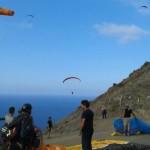 Paragliding in Hermigua