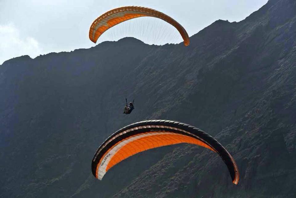 Skypar Paragliding Hermigua 2014