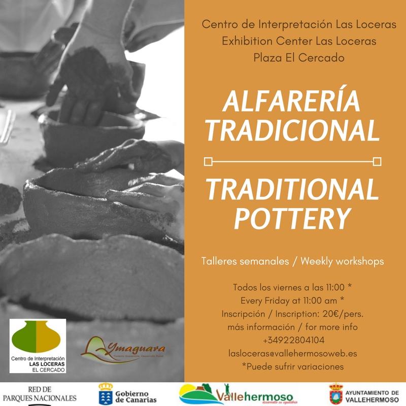 Talleres de alfarería tradicional en La Gomera